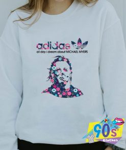 Adidas All Day I Dream About Michael Myers Sweatshirt