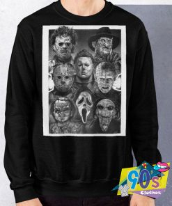 All Horror Movie Character Halloween Sweatshirt