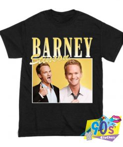 Barney Stinson How I Met Your Mother Rapper T Shirt