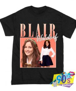 Blair Waldorf Gossip Girl Rapper T Shirt