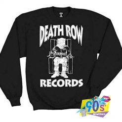 Vintage Death ROw Records Sweatshirt