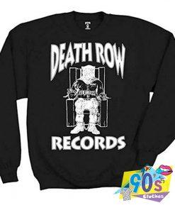 Vintage Death ROw Records Sweatshirt