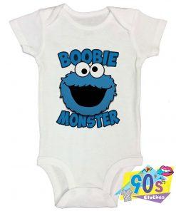 Boobie Monster Baby Onesie