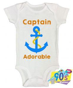 Captain Adorable Baby Onesie