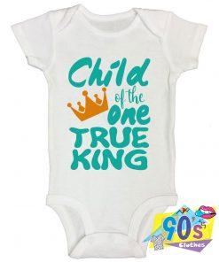Child of the One True King Baby Onesie
