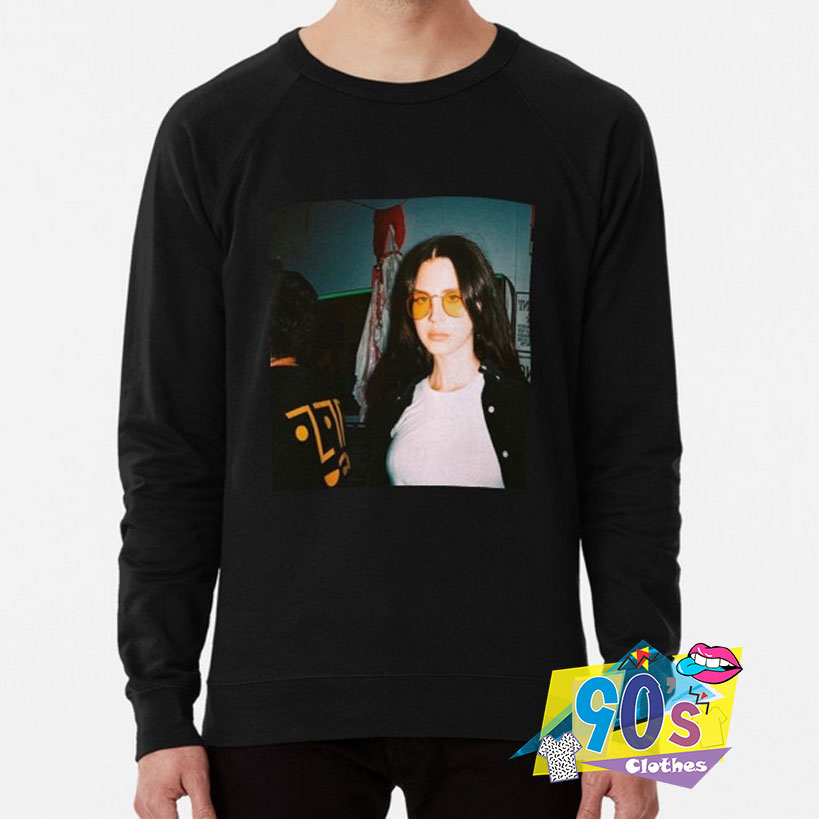 Cute Lana Del Rey Photoshoot Sweatshirt 90sclothes