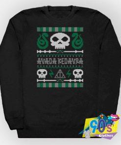 Harry Potter Avada Kedavra Ugly Christmas Sweatshirt
