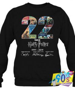 Harry Potter Birthday 22 Years Unisex Sweatshirt