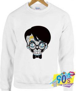 Harry Potter Death Sugar Skull Sweatshirt