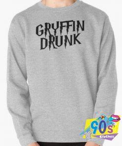 Harry Potter Gryffin Drunk Sweatshirt