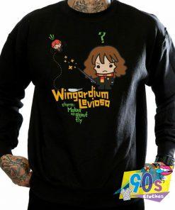 Harry Potter Hermione Granger Wingardium Leviosa Junior Sweatshirt