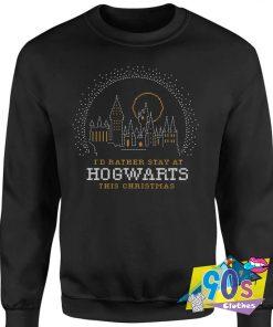 Harry Potter Hogwarts This Christmas Sweatshirt