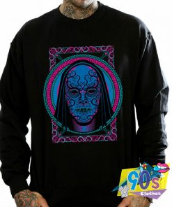 Harry Potter Neon Death Eater Mask Sweatshirt
