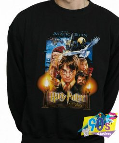 Harry Potter The Sorcerers Stone Poster Sweatshirt