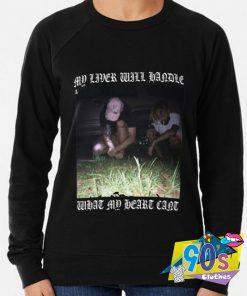 Suicideboy My Liver Will Handle What My Heart Sweatshirt