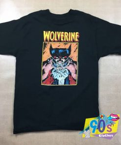1989 Marvel Wolverine Funny T Shirt