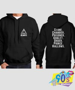 Always With Boook List Harry Potter Hoodie