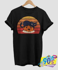 Cat Pumpkin Halloween Costume T shirt