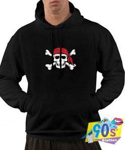 Cool Pirate Skull Crossbones Hoodie