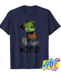 Disney Mickey Mouse Halloween Boo Funny T Shirt