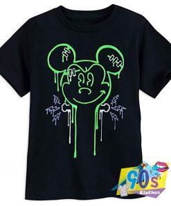 Disney Mickey Mouse Horror Halloween T Shirt