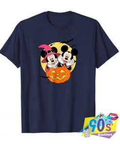 Disney Mickey and Minnie Halloween T Shirt