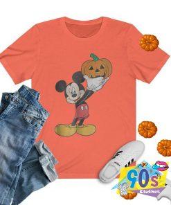 Disney Micky Mouse Pumpkin Halloween T shirt