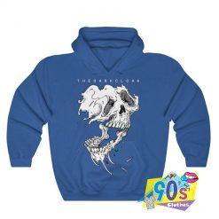 Falling Apart Skull Halloween Sweatshirt
