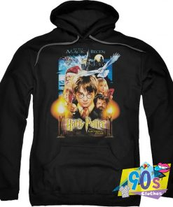 Harry Potter Movie Poster Mens Pullover Hoodie