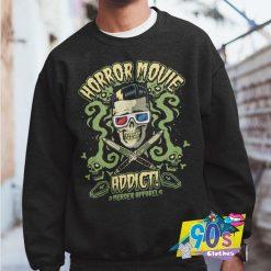 Horror Movies Addict Skeleton Sweatshirt