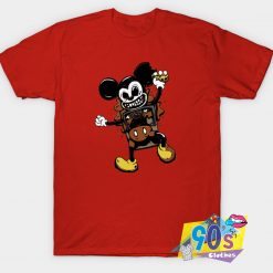 Mickey Mouse Horror FaceT Shirt