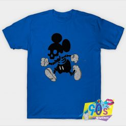 Mickey Mouse Skeleton Halloween T Shirt