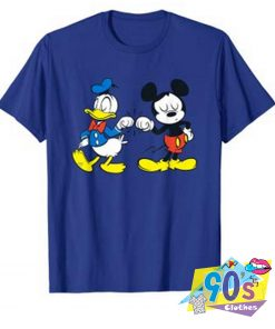Mickey Mouse and Donald Duck Best Friends T Shirt