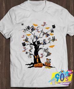 Nice Mickey Mouse Tree Halloween T shirt