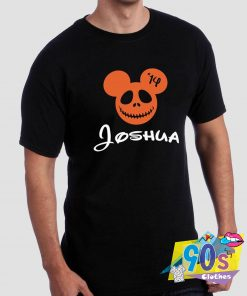 Personalized Mickey Mouse Hallowen T shirt