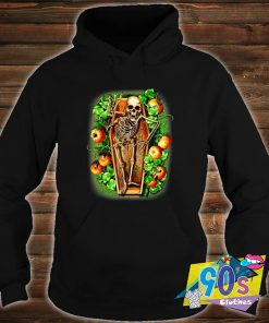 Pumpkin and Skeleton Scary Halloween Sweatshirt