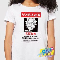 Rick and Morty Wanted Rick T shirt