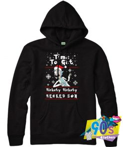 Rickety Recked Son Morty Xmas Hoodie