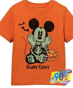 Scary Cute Toddler Boys Mickey Mouse T shirt