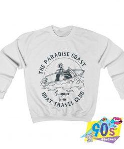 The Paradise Coast Boat Travel Club Skeleton Sweatshirt