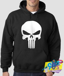The Punisher Skull Pullover Hoodie