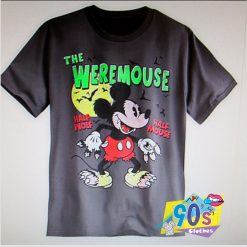 The Weremouse Disney Mickey Mouse Halloween T shirt
