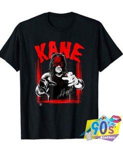 WWE KANE Horror Font T shirt