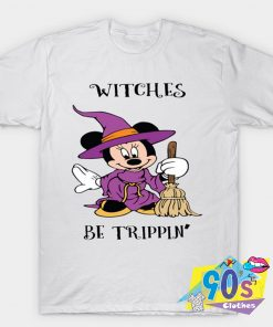 Witches Be Trippin Disney Mickey Minnie Mouse T shirt