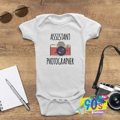 Assistant Photographer Funny Baby Onesie