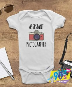 Assistant Photographer Funny Baby Onesie