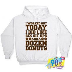 Dozen Donut Workout Hoodie