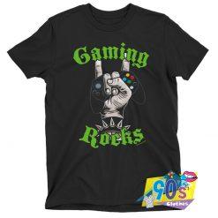Gaming Rocks Metal T shirt