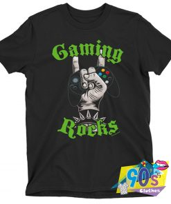 Gaming Rocks Metal T shirt