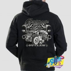Greaser Outlaw Hot Rod Hoodie